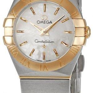 Omega Constellation Quartz 24mm 123.20.24.60.05.001 Kello