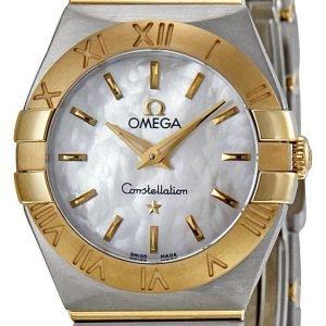 Omega Constellation Quartz 24mm 123.20.24.60.05.002 Kello