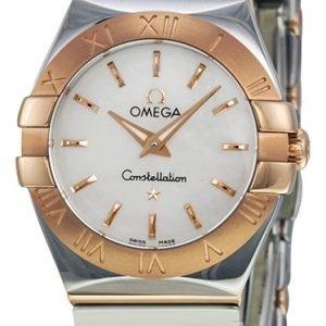 Omega Constellation Quartz 24mm 123.20.24.60.05.003 Kello