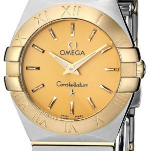 Omega Constellation Quartz 24mm 123.20.24.60.08.001 Kello