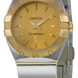 Omega Constellation Quartz 24mm 123.20.24.60.08.002 Kello