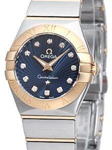 Omega Constellation Quartz 24mm 123.20.24.60.53.001 Kello
