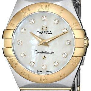 Omega Constellation Quartz 24mm 123.20.24.60.55.002 Kello