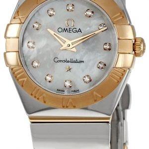 Omega Constellation Quartz 24mm 123.20.24.60.55.003 Kello