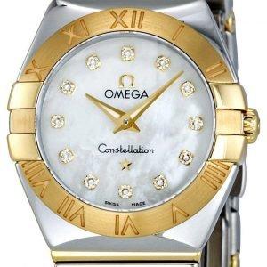 Omega Constellation Quartz 24mm 123.20.24.60.55.004 Kello