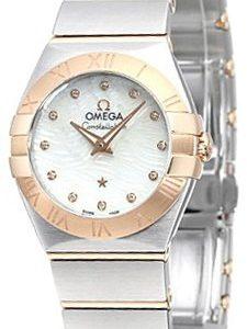 Omega Constellation Quartz 24mm 123.20.24.60.55.007 Kello