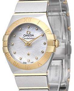Omega Constellation Quartz 24mm 123.20.24.60.55.008 Kello