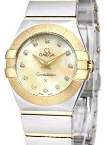 Omega Constellation Quartz 24mm 123.20.24.60.57.001 Kello