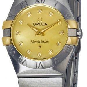 Omega Constellation Quartz 24mm 123.20.24.60.57.002 Kello