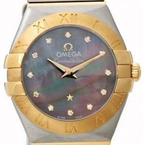 Omega Constellation Quartz 24mm 123.20.24.60.57.006 Kello