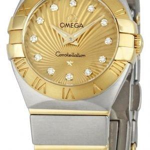 Omega Constellation Quartz 24mm 123.20.24.60.58.001 Kello