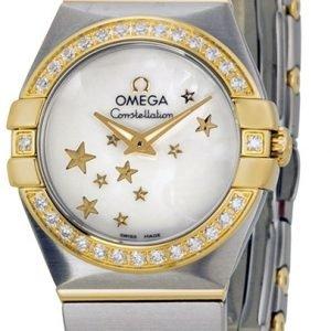 Omega Constellation Quartz 24mm 123.25.24.60.05.001 Kello