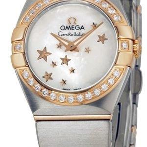 Omega Constellation Quartz 24mm 123.25.24.60.05.002 Kello