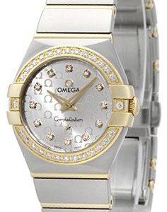 Omega Constellation Quartz 24mm 123.25.24.60.52.002 Kello