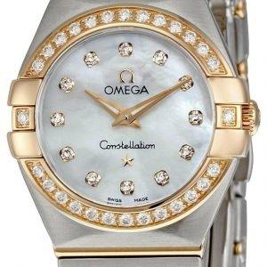 Omega Constellation Quartz 24mm 123.25.24.60.55.001 Kello