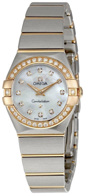 Omega Constellation Quartz 24mm 123.25.24.60.55.001 Kello ... 643df95fff