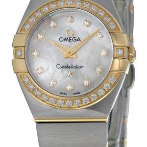 Omega Constellation Quartz 24mm 123.25.24.60.55.003 Kello