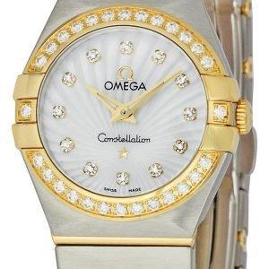 Omega Constellation Quartz 24mm 123.25.24.60.55.004 Kello