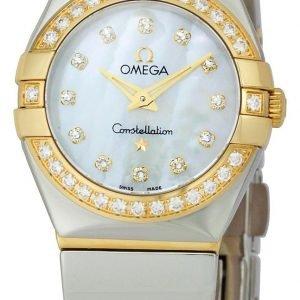 Omega Constellation Quartz 24mm 123.25.24.60.55.007 Kello