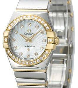 Omega Constellation Quartz 24mm 123.25.24.60.55.008 Kello
