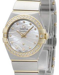 Omega Constellation Quartz 24mm 123.25.24.60.55.011 Kello