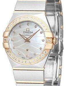 Omega Constellation Quartz 24mm 123.25.24.60.55.012 Kello