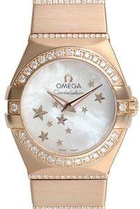 Omega Constellation Quartz 24mm 123.55.24.60.05.004 Kello 18k