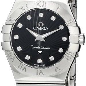 Omega Constellation Quartz 27mm 123.10.27.60.51.002 Kello