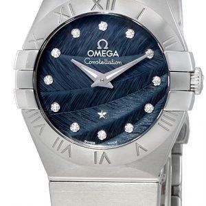 Omega Constellation Quartz 27mm 123.10.27.60.53.001 Kello