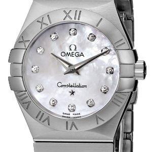 Omega Constellation Quartz 27mm 123.10.27.60.55.001 Kello