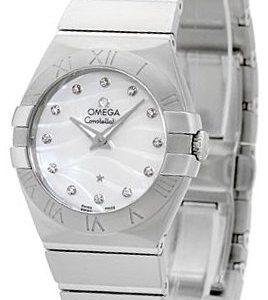 Omega Constellation Quartz 27mm 123.10.27.60.55.003 Kello