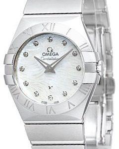 Omega Constellation Quartz 27mm 123.10.27.60.55.004 Kello