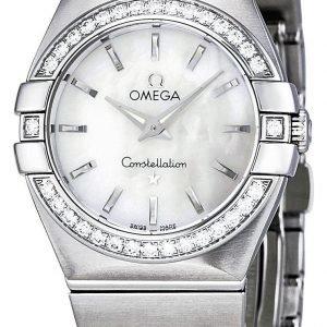 Omega Constellation Quartz 27mm 123.15.27.60.05.001 Kello