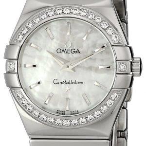 Omega Constellation Quartz 27mm 123.15.27.60.05.002 Kello