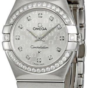 Omega Constellation Quartz 27mm 123.15.27.60.52.001 Kello