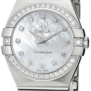 Omega Constellation Quartz 27mm 123.15.27.60.55.001 Kello
