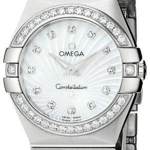 Omega Constellation Quartz 27mm 123.15.27.60.55.002 Kello