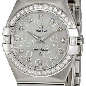 Omega Constellation Quartz 27mm 123.15.27.60.55.005 Kello