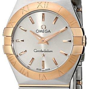Omega Constellation Quartz 27mm 123.20.27.60.02.001 Kello