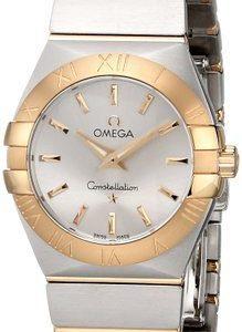 Omega Constellation Quartz 27mm 123.20.27.60.02.002 Kello
