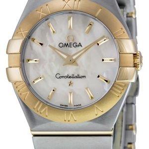 Omega Constellation Quartz 27mm 123.20.27.60.05.002 Kello