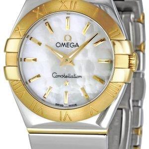 Omega Constellation Quartz 27mm 123.20.27.60.05.004 Kello