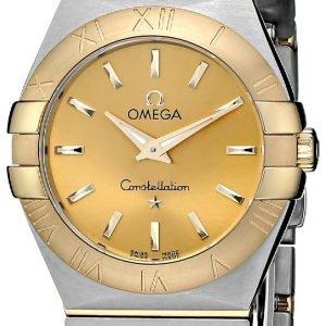 Omega Constellation Quartz 27mm 123.20.27.60.08.001 Kello