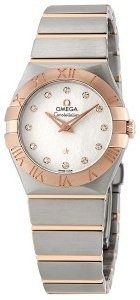 Omega Constellation Quartz 27mm 123.20.27.60.52.002 Kello