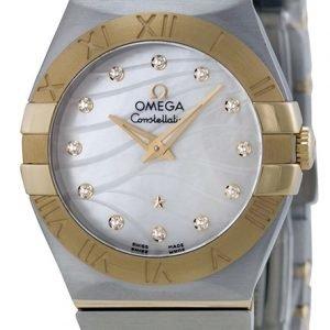 Omega Constellation Quartz 27mm 123.20.27.60.55.005 Kello