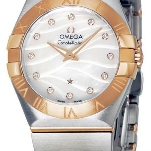 Omega Constellation Quartz 27mm 123.20.27.60.55.006 Kello