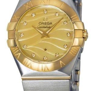 Omega Constellation Quartz 27mm 123.20.27.60.57.001 Kello