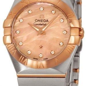 Omega Constellation Quartz 27mm 123.20.27.60.57.002 Kello