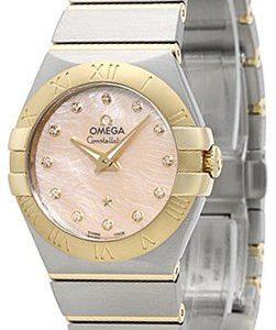 Omega Constellation Quartz 27mm 123.20.27.60.57.005 Kello