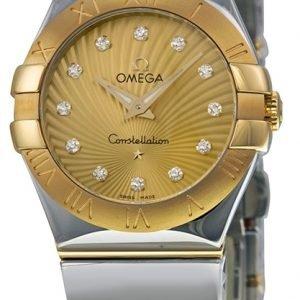 Omega Constellation Quartz 27mm 123.20.27.60.58.002 Kello